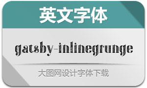 Gatsby-InlineGrunge(英文字体)