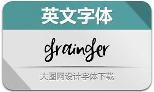 Grainger(英文字体)