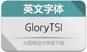 GloryTSI(英文字体)