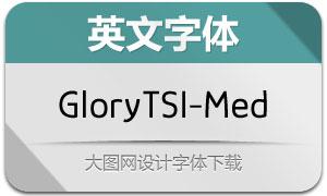 GloryTSI-Medium(英文字体)