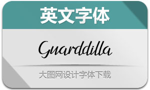 GuarddillaTypeface(英文字体)