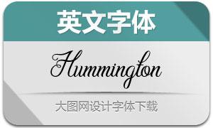 Hummington(英文字体)