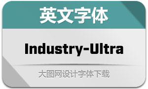 Industry-Ultra(英文字体)