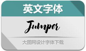 Jumper系列三款英文字体