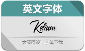 Kelium-Normal(英文字体)