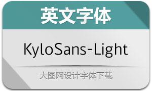 KyloSans-Light(英文字体)