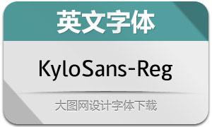 KyloSans-Regular(英文字体)