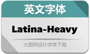 Latina-Heavy(英文字体)