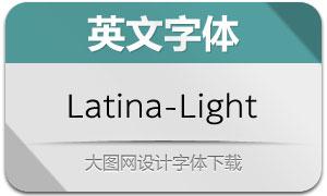 Latina-Light(英文字体)