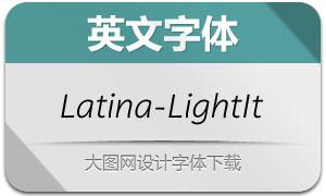 Latina-LightIt(英文字体)