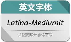 Latina-MediumIt(英文字体)