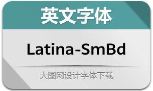 Latina-SemiBold(英文字体)