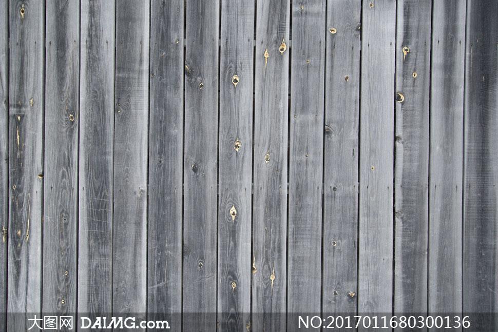 深灰色的竖向木板纹理背景高清图片