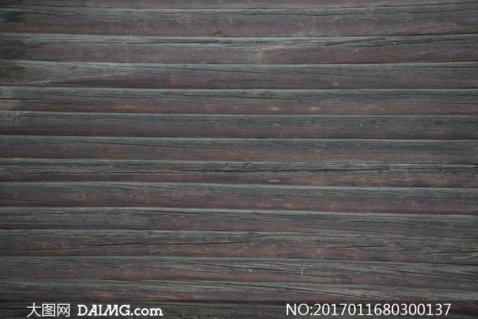 褐色质感效果木板纹理背景高清图片