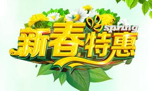 新春特惠购物促销海报设计PSD素材