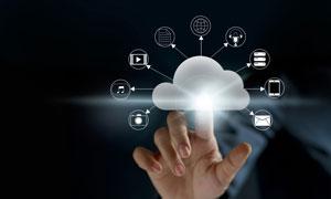 云计算互联网主题创意设计高清图片