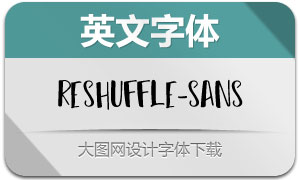 Reshuffle-Sans(英文字体)