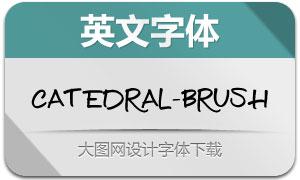 Catedral-Brush(手写风格英文字体)