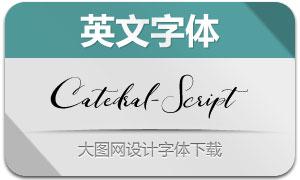 Catedral-Script(英文字体)