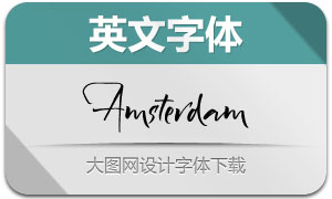 Amsterdam-Regular(英文字体)