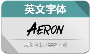 Aeron(英文字体)