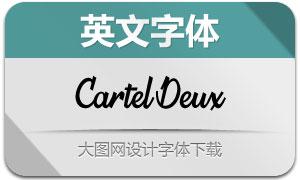 CartelDeux系列三款英文字体