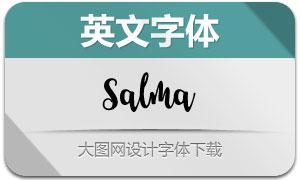 Salma(英文字体)