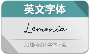 Lemonia(英文字体)
