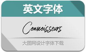 Connoisseurs(英文字体)