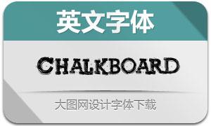 Chalkboardthebest(英文字体)