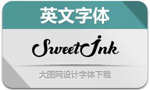 SweetInk(英文字体)