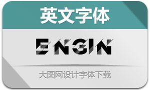 Engin(英文字体)