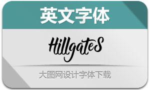 Hillgates(英文字体)