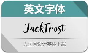 JackFrost(英文字体)