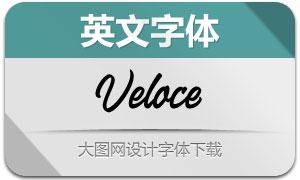 Veloce(英文字体)