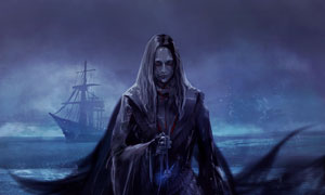 暗黑风格游戏人物角色创意高清图片