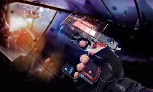 射击动作游戏画面创意设计高清图片
