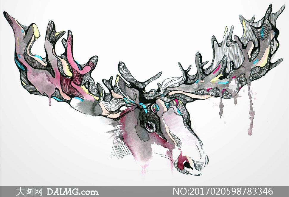高清图片 绘画书法 > 素材信息          风景钢琴水彩绘画创意设计