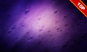 絢麗光效雨滴背景創意設計高清圖片