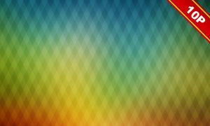 菱形几何元素抽象背景创意高清图片