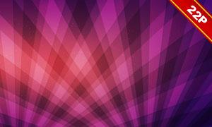 用光效点缀的菱形几何背景高清图片