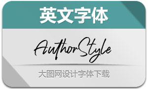 AuthorStyle系列三款英文字体