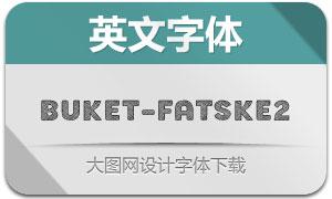 Buket-FatSketch2(英文字体)