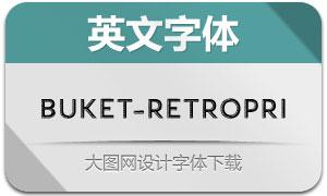 Buket-RetroPrisma(英文字体)