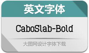 CaboSlab-Bold(英文字体)