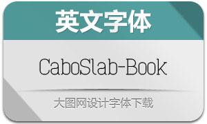 CaboSlab-Book(英文字体)