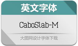 CaboSlab-M(英文字体)