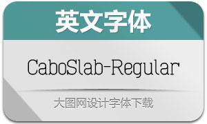 CaboSlab-Regular(英文字体)