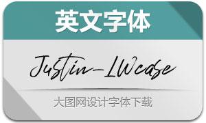 JustinLWcase(英文字体)