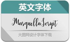 MarquellaScript(英文字体)